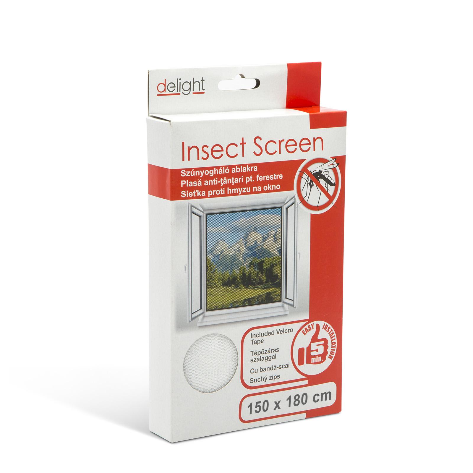 Topvyrobky.sk Sieťka proti hmyzu na okno biela