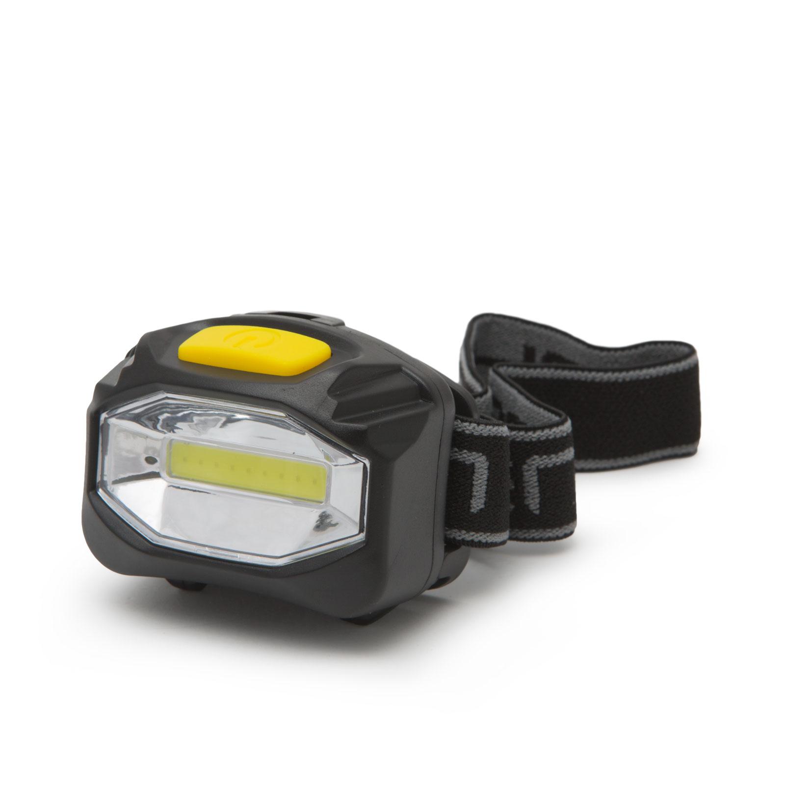 COB LED čelová lampa s vysokou svietivosťou - na batérie - 12 ks   displej 64fd99be1de