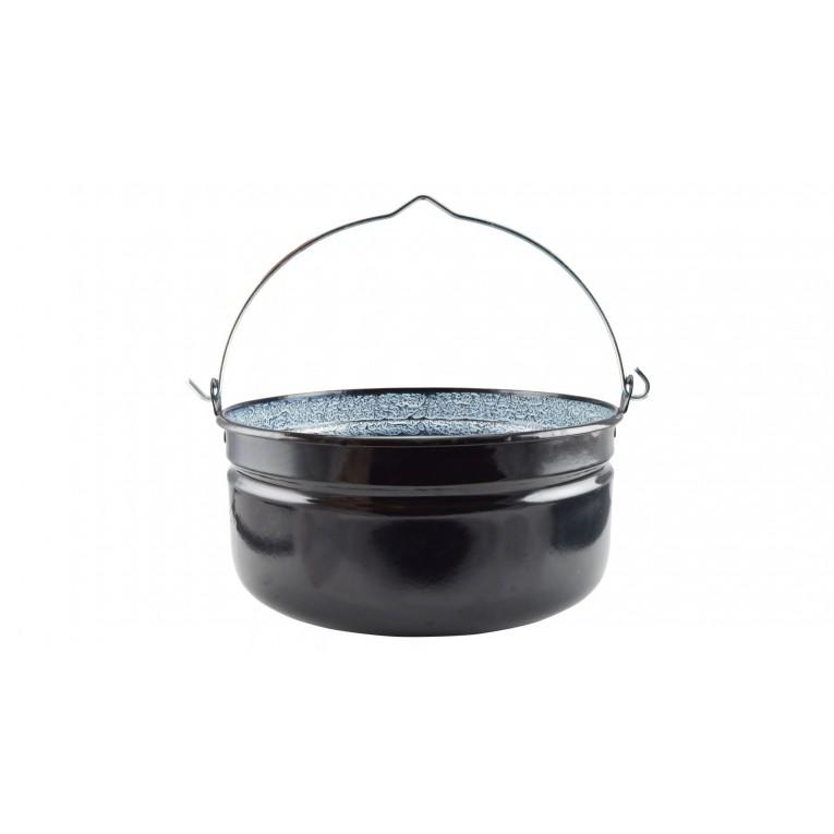 Zománc halfőző bogrács 14 liter